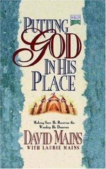 Putting God in His Place 156233252X Book Cover
