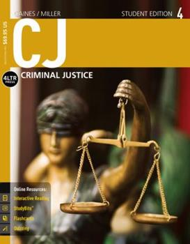 CJ [with CJ Online 6-Months Access Code] 1305661192 Book Cover