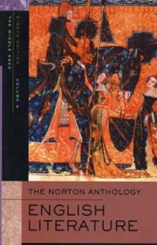 Paperback The Norton Anthology of English Literature Vol. A Book