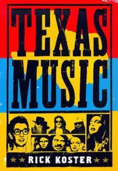 Hardcover Texas Music Book
