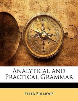 Paperback Analytical and Practical Grammar Book