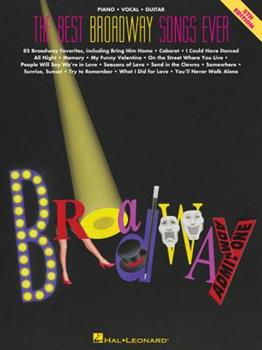 The Best Broadway Songs Ever (The Best Ever Series) 079350628X Book Cover
