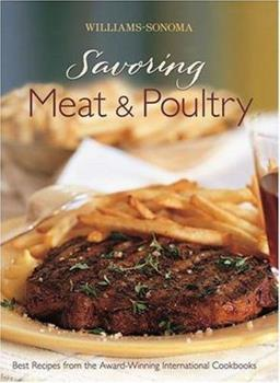 Savoring Meat & Poultry 0848731247 Book Cover