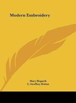 Hardcover Modern Embroidery Book