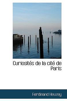 Paperback Curiosites de la Cite de Paris Book
