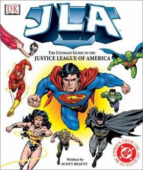 Hardcover JLA:The Ultimate Guide to the Justice League of America Book
