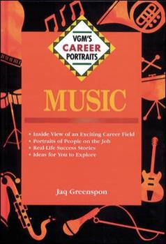 Music (VGM's Career Portraits) 0844243604 Book Cover