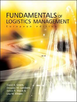 Fundamentals of Logistics Management 0077108949 Book Cover