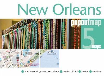Map New Orleans Popout Map Book