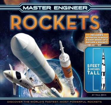 Master Engineer: Rockets 159223125X Book Cover