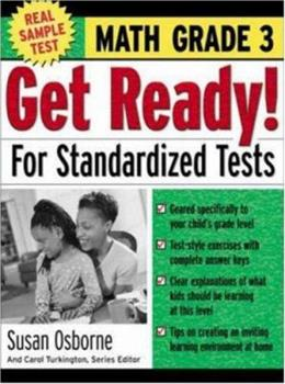 Paperback Get Ready! For Standardized Tests : Math Grade 3 Book