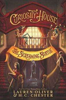 Paperback Curiosity House: the Screaming Statue Book
