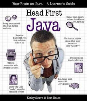Paperback Head First Java : Your Brain on Java- A Learner's Guide Book