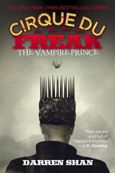 Paperback The Cirque Du Freak: The Vampire Prince Book