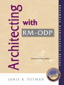 Paperback Architecting with Rm-Odp Book