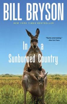 Paperback In a Sunburned Country Book