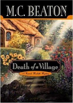 Hardcover Death of a Village (Hamish Macbeth Mysteries, No. 19) Book