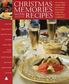 Hardcover Christmas Memories With Recipes Book