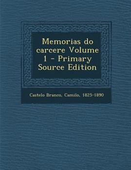 Paperback Memorias Do Carcere Volume 1 Book