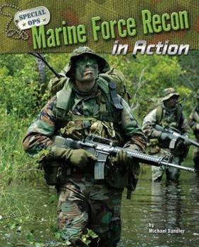 Marine Force Recon in Action 1597166340 Book Cover