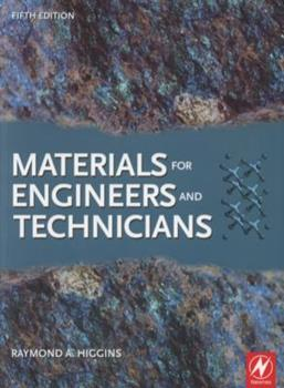 Paperback Materials for Engineers and Technicians, Fifth Edition Book