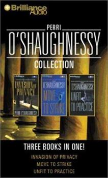 Audio Cassette Perri O'Shaughnessy Collection: Invasion of Privacy, Move to Strike, Unfit to Practice (Nina Reilly) Book