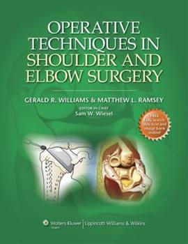 Operative Techniques in Shoulder and Elbow Surgery 145110264X Book Cover