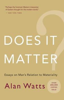 Does It Matter? 0394716655 Book Cover