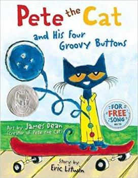 Paperback Pete the Cat and His Four Groovy Buttons Book