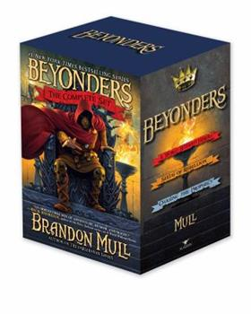 Beyonders The Complete Set: A World Without Heroes; Seeds of Rebellion; Chasing the Prophecy 1442494425 Book Cover