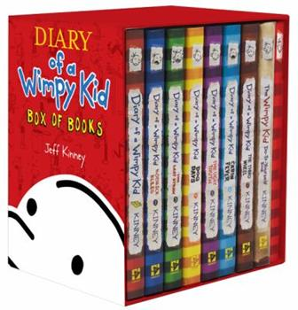 Diary of a Wimpy Kid: #1-7 + DIY + Journal - Book  of the Diary of a Wimpy Kid