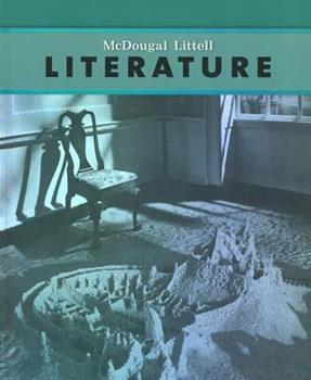 McDougal Littlel Literature Grade 8 0618568654 Book Cover