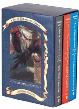 The Vile Village, The Hostile Hospital, The Carnivorous Carnival - Book  of the A Series of Unfortunate Events