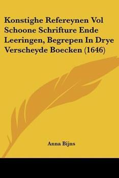 Paperback Konstighe Refereynen Book