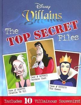 Hardcover Disney Villains: The Top Secret Files Book