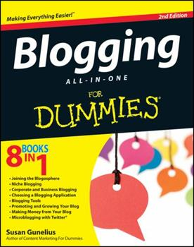 Paperback Blogging All-In-One for Dummies Book