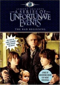 Paperback The Bad Beginning, Movie Tie-in Edition (A Series of Unfortunate Events, Book 1) (A Series of Unfortunate Events, 1) Book