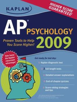 Paperback Kaplan AP Psychology 2009 Book