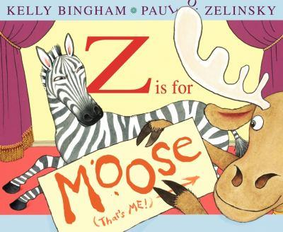Z is for Moose 0060799846 Book Cover