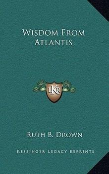 Hardcover Wisdom from Atlantis Book