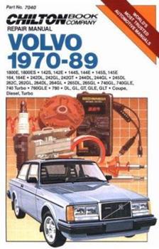 Paperback Volvo, 1970-89 (Chilton's Repair Manual) Book