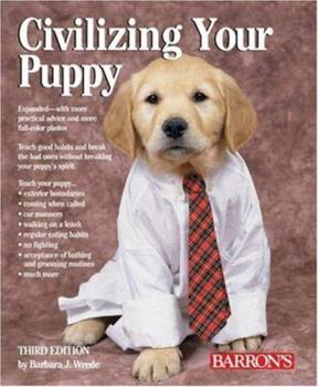 Civilizing Your Puppy 0812049535 Book Cover