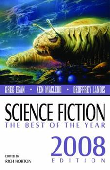 Science Fiction: The Best of the Year, 2008 Edition 0809572508 Book Cover