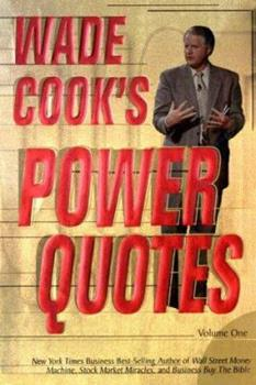 Wade Cook's Power Quotes 0910019789 Book Cover