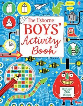 Paperback Boy's Activity Book