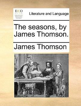 Paperback The Seasons, by James Thomson Book