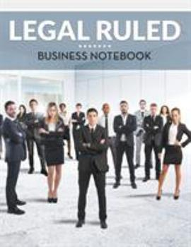 Paperback Legal Ruled Business Notebook Book