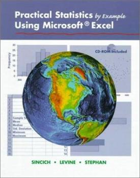 Practical Statistics By Example Using Microsoft Excel 0130960837 Book Cover