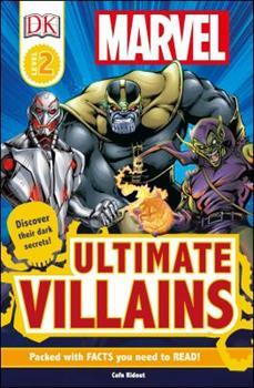 Paperback DK Readers L2: Marvel's Ultimate Villains Book