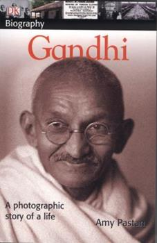 Paperback Gandhi : A Photographic Stroy of Life Book